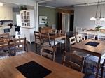 Matsal och kök Vandrarhem Rum och Uthyrning Örnsköldsvik Svedjeholmen