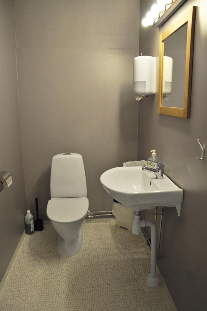 Toalett Vandrarhem Rum och Uthyrning Örnsköldsvik Svedjeholmen